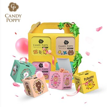 CANDY POPPY x LINE FRIENDS幸福花園寶盒 2盒組