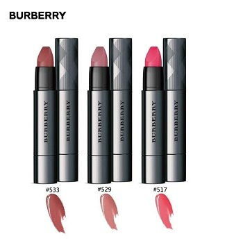 BURBERRY FULL KISSES 唇膏三件組